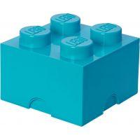 LEGO Úložný box 25 x 25 x 18 cm azúrová