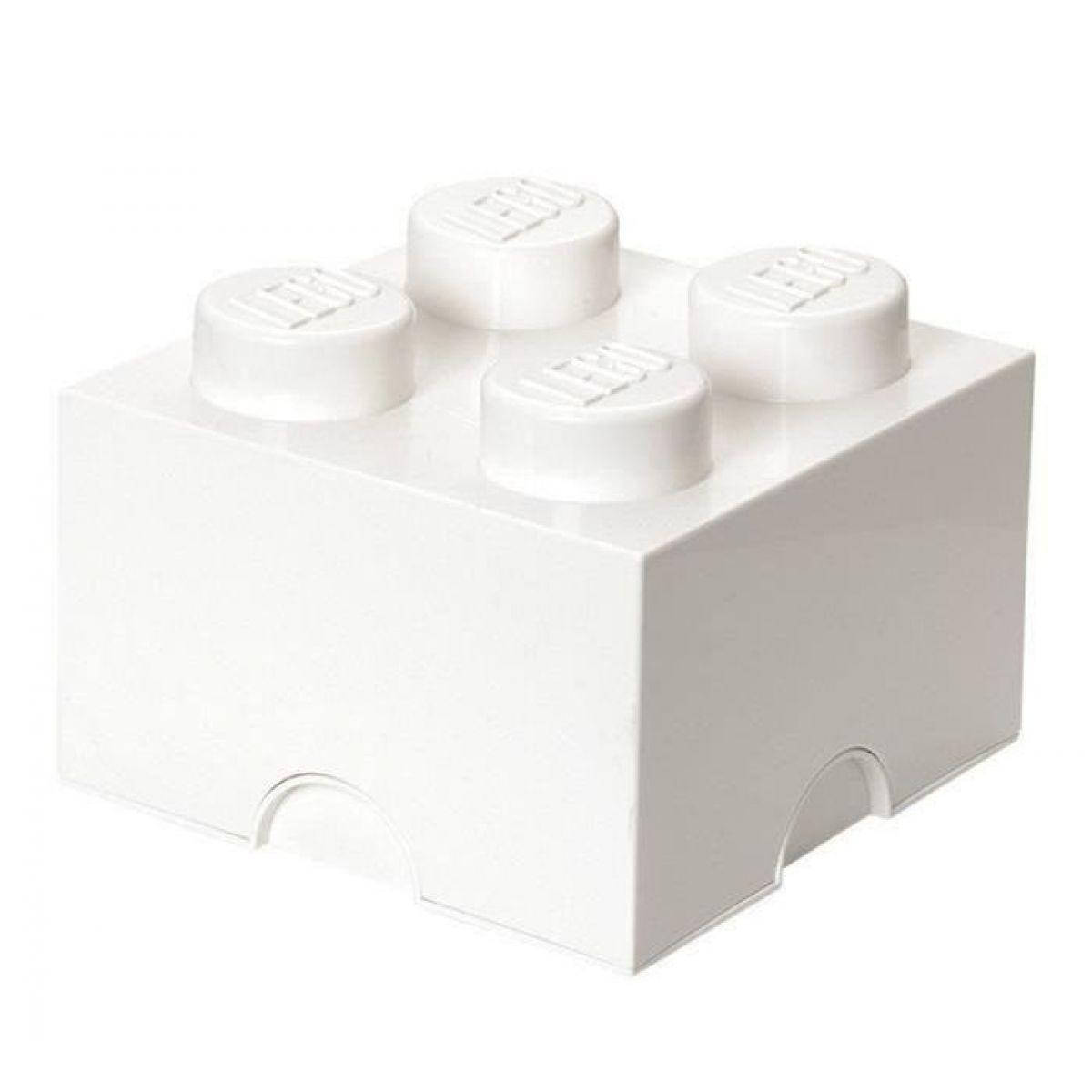 LEGO úložný box 25 x 25 x 18 cm biely