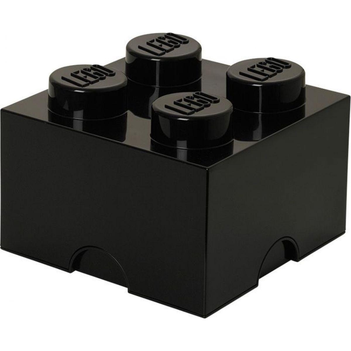 LEGO Úložný box 25x25x18cm Čierna