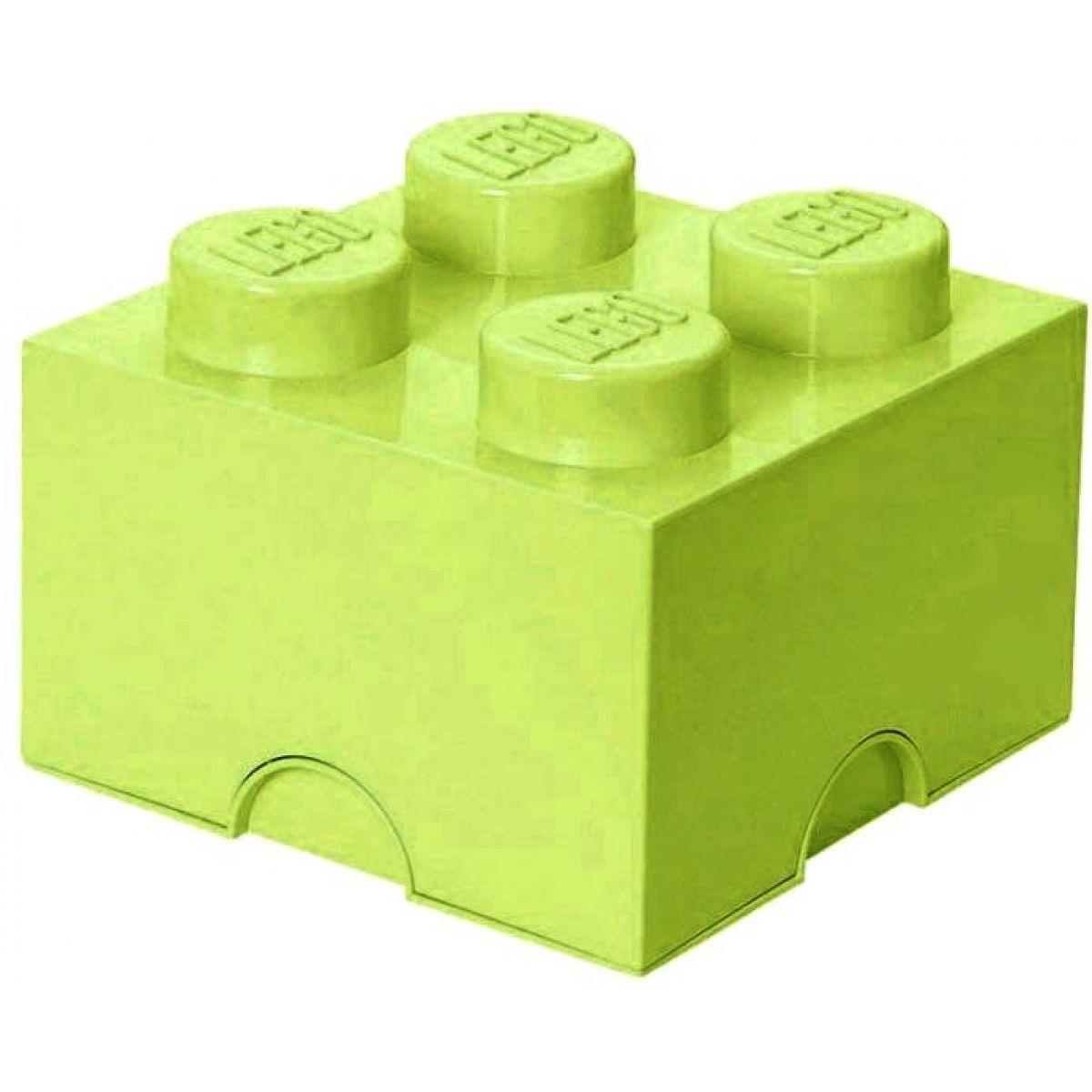 LEGO úložný box 25 x 25 x 18 cm jarná zelená