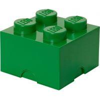 LEGO Úložný box 25 x 25 x 18 cm Tmavozelená