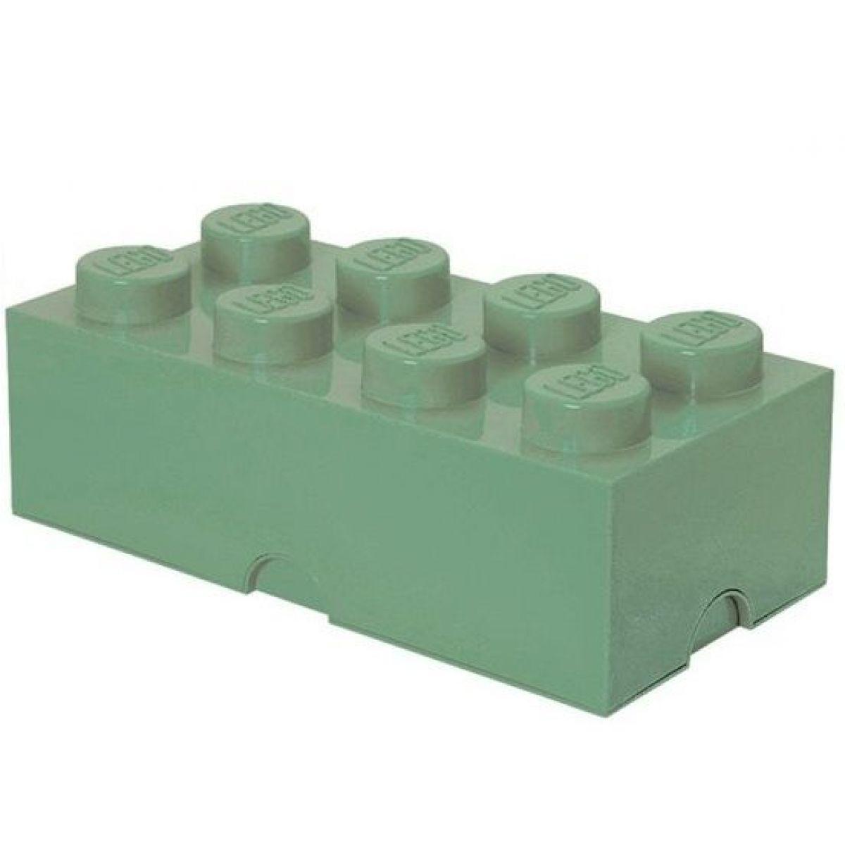 LEGO Úložný box 25x50x18cm Army zelená