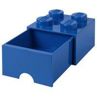 LEGO Úložný box 4 so šuplíkom Modrá
