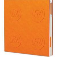 LEGO® 2.0 Zápisník s gélovým perom ako klipom - oranžový 3