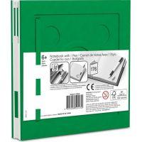 LEGO® 2.0 Zápisník s gélovým perom ako klipom - zelený 4