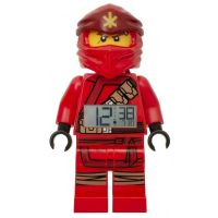 LEGO® Ninjago Kai (2019) - hodiny s budíkom