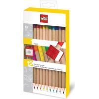 LEGO® Pastelky mix farieb 12 ks s LEGO® klipom 3