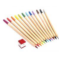 LEGO® Pastelky, mix farieb - 12 ks s LEGO® klipom