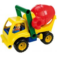 LENA 04153 - Aktívny domiešavač červený nákladiak