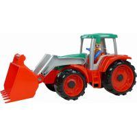 Lena Truxx Traktor s prívesom na seno s ozdobným kartónom 2