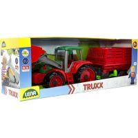 Lena Truxx Traktor s prívesom na seno s ozdobným kartónom 4