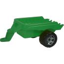 Lena Veľký traktor s lyžicou a prívesom 110 cm 3