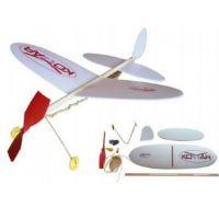 Lietadlo Komár model na gumu
