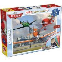 Lisciani Giochi Planes 2v1 35 dílků