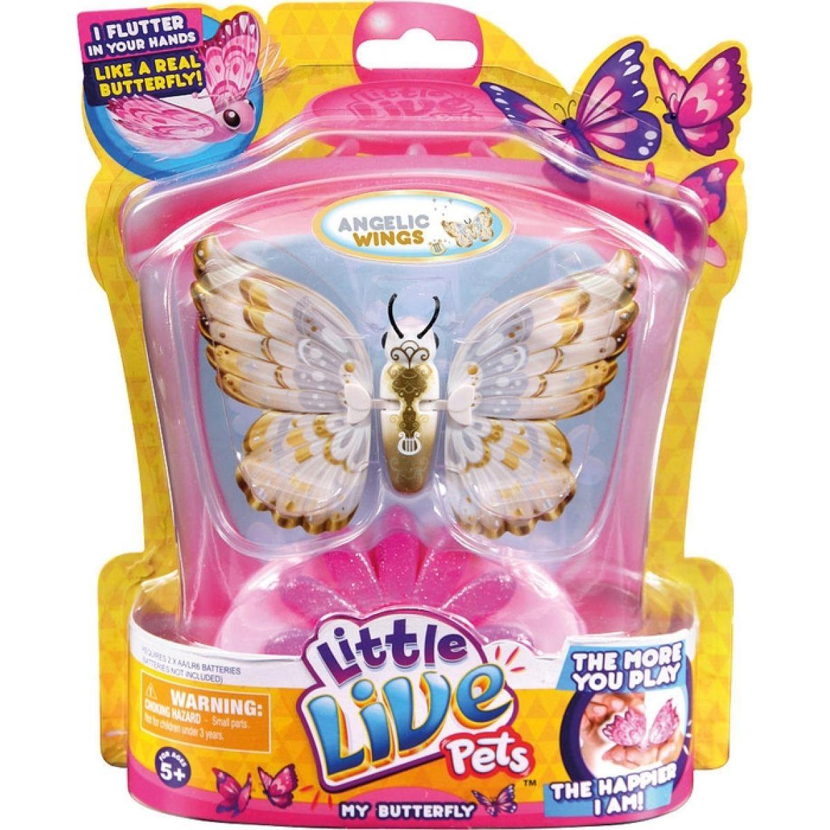 Little Live Pets Motýľ - Anjelské krídla