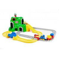 Little tikes autodráha s železnicou