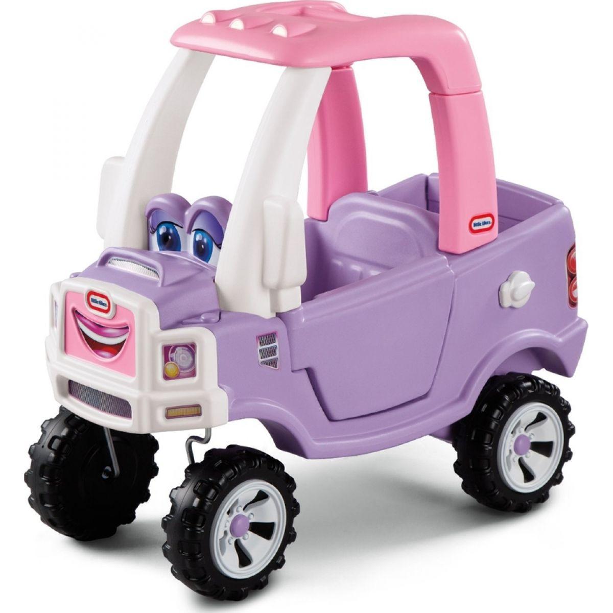 Little Tikes Cozy Truck Odrážadlo terénne auto - ružové