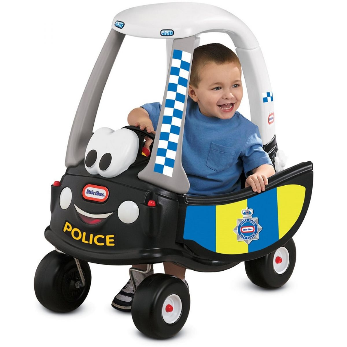 Little Tikes Autíčko Cozy Coupe Policajná patrola