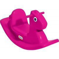 LITTLE TIKES Koník hojdací purpurový detské hojdačka s držiakmi