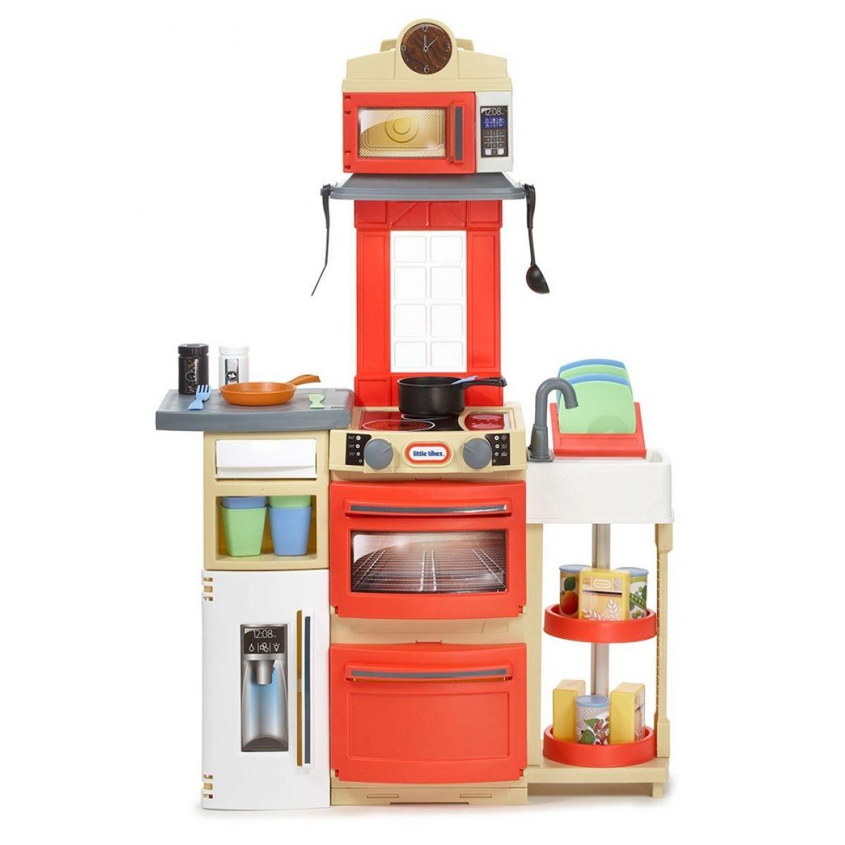 Little Tikes Kuchyňka Cook 'n Store Červená - Poškodený obal