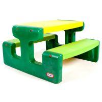 Little Tikes Piknikový stolček Evergreen veľký