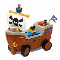 Little Tikes Odrážadlo pirátska loď 2v1
