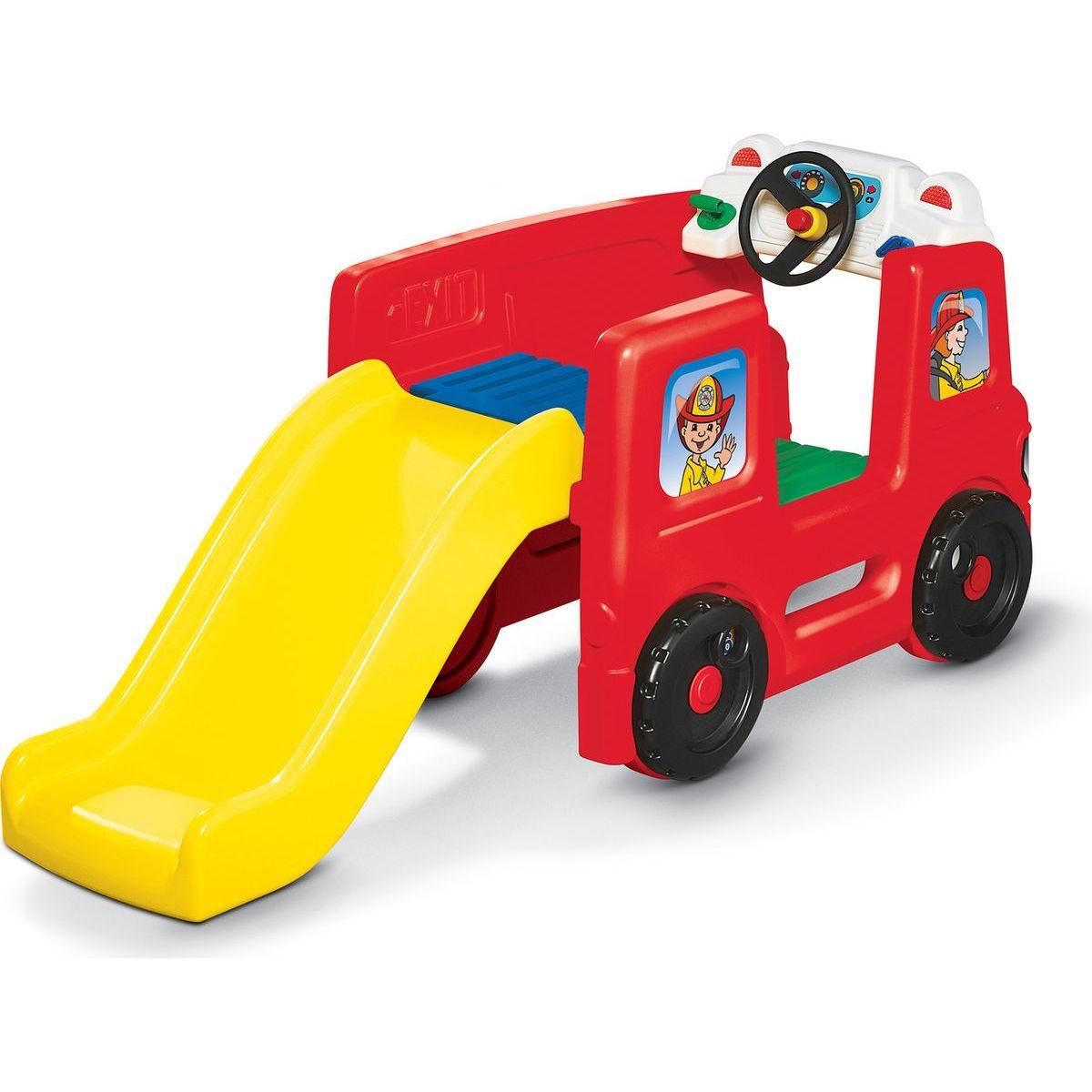 Little Tikes Požiarnické vozidlo s kluzavkou