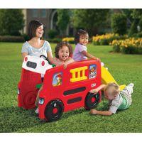 Little Tikes Požiarnické vozidlo s kluzavkou 2