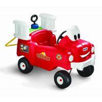 Little Tikes 616129 - Odrážadlo hasičské auto s funkčnou striekačkou 2