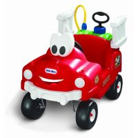 Little Tikes 616129 - Odrážadlo hasičské auto s funkčnou striekačkou 3