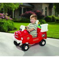 Little Tikes 616129 - Odrážadlo hasičské auto s funkčnou striekačkou 5