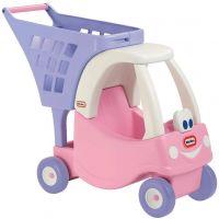 Little Tikes Princess Cozy Coupe Nákupný vozík