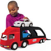 Little Tikes Ťahač s návesom na prepravu áut
