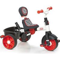 LITTLE TIKES 634345 Trojkolka 4v1 Sport Edition červeno-biela 3