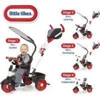 LITTLE TIKES 634345 Trojkolka 4v1 Sport Edition červeno-biela 4