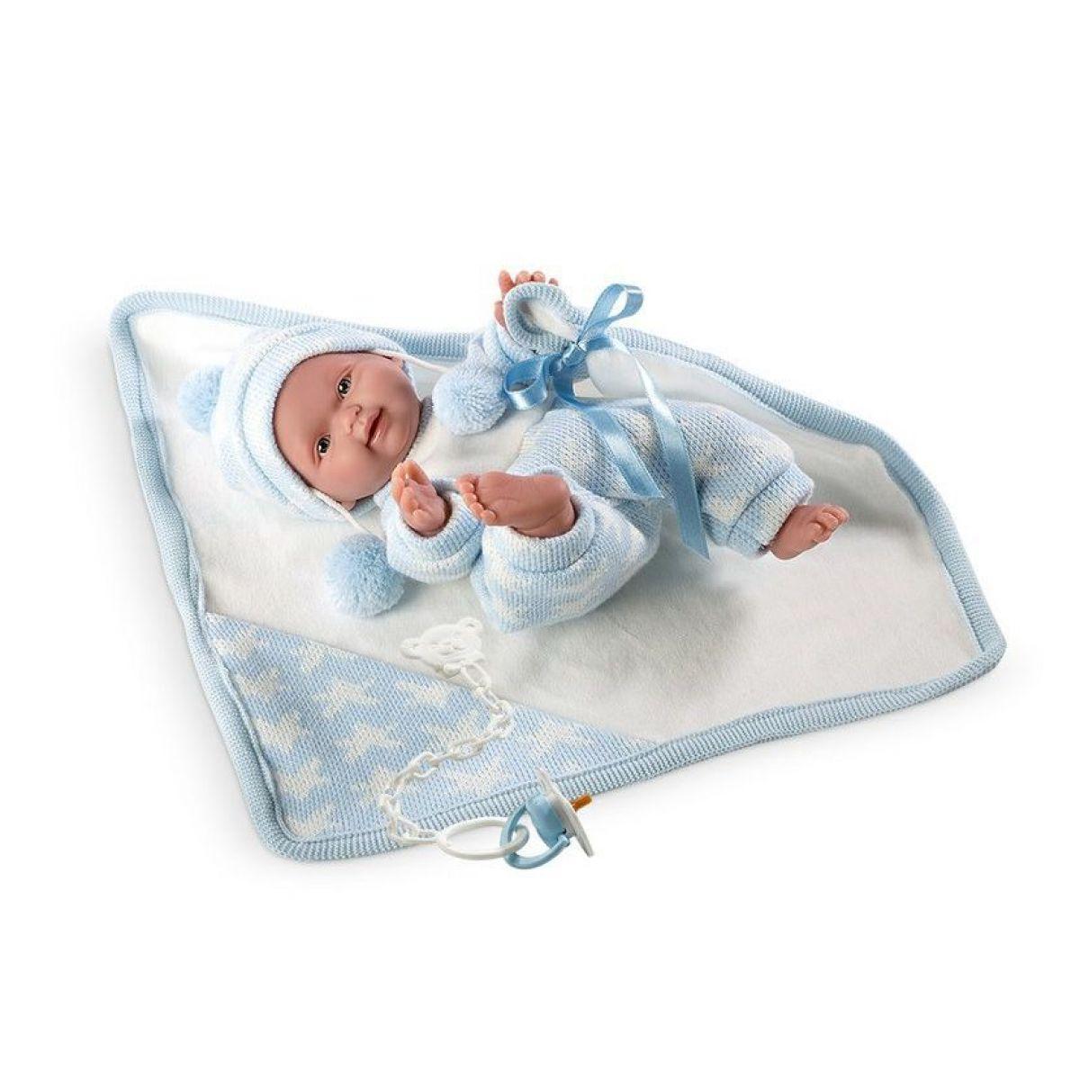 Llorens bábika New Born chlapček 26269