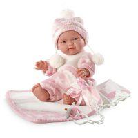 Llorens bábika New Born dievčatko 26270