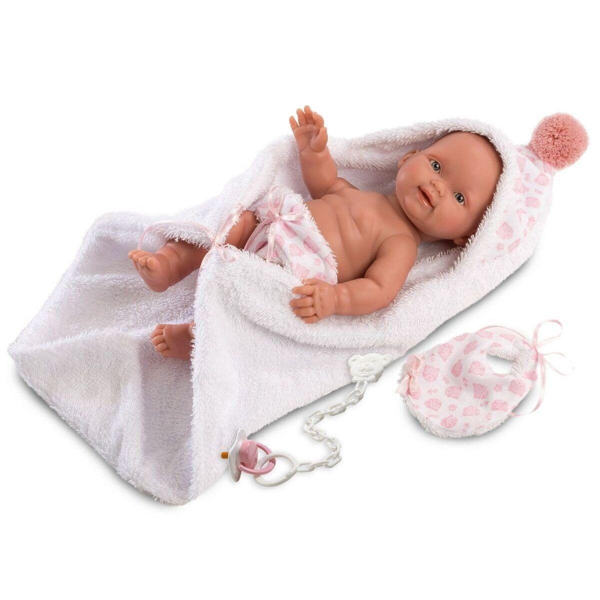 Llorens bábika New Born dievčatko 26274