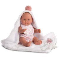Llorens bábika New Born dievčatko 26274 2
