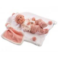 Llorens bábika New Born dievčatko 63546
