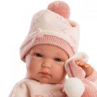 Llorens bábika New Born dievčatko 63546 3