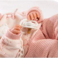 Llorens bábika New Born dievčatko 63546 4