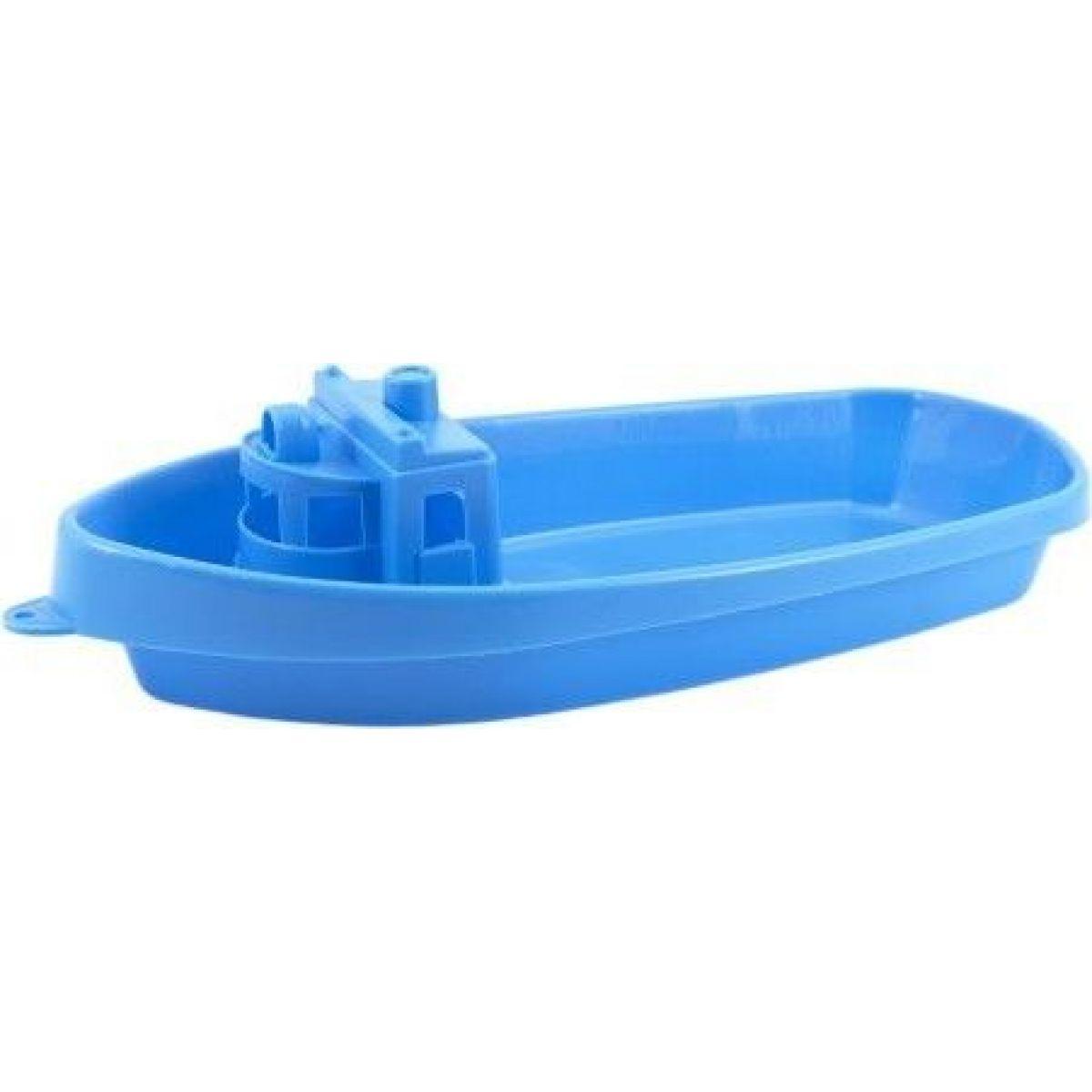 Loď do vody plastová 38cm modrá
