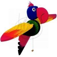 Woody Létací papagáj 50 cm