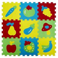 Ludi Puzzle pěnové 84x84 cm ovoce a zelenina