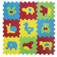 Ludi Puzzle penové Basic zvieratka 84x84cm