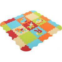 Ludi Puzzle pěnové Zvířátka120 x 120 cm