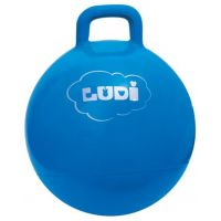 Ludi Skákacia lopta 45 cm modrá