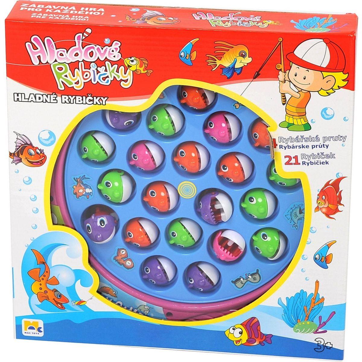 Mac Toys Hladové rybičky - Poškodený obal