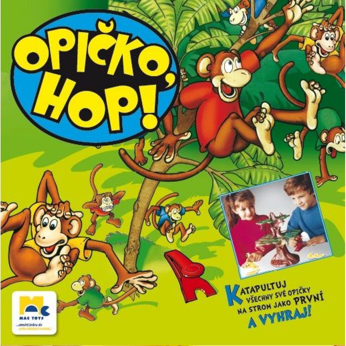 Mac Toys Opička hop!